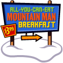Mountain Man Breakfast Emoticon