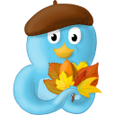 Fall Leaves Emoticon