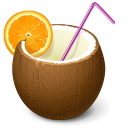 Cocktail Emoticon
