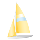 Sailing Boat Emoticon