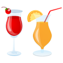 Summer Cocktails Emoticon