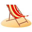 Beach Chair Emoticon