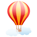 Air Balloon Emoticon