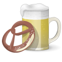 Beer And Pretzel Emoticon
