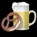 Beer And Pretzel Emoticon