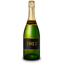 Champagne Bottle Emoticon