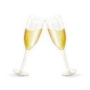Champagne Emoticon