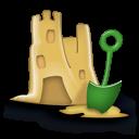 Sand Castle Emoticon