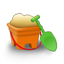 Sand Bucket Emoticon