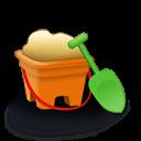 Sand Bucket Emoticon