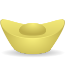 Gold Ingot Emoticon