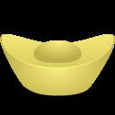 Gold Ingot Emoticon