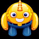 Yellow Monster Emoticon