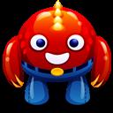 Red Monster Emoticon