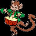 Monkey 3 Emoticon