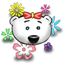 Flower Power Emoticon