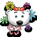 Flower Power Emoticon