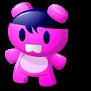 Pink Toy Emoticon