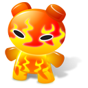 Fire Toy Emoticon