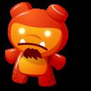 Red Toy Emoticon