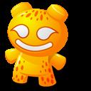 Orange Toy Emoticon