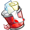 Trashcan Full Emoticon