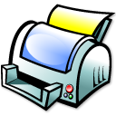 Print Manager Emoticon