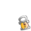 Lock Overlay Emoticon
