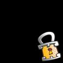 Lock Overlay Emoticon