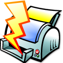 File Quick Print Emoticon