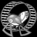 Click N Run Grey Emoticon