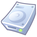 Hard Disk Emoticon