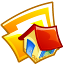 Folder Home Emoticon