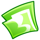 Folder Green Emoticon
