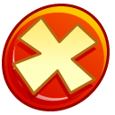 Button Cancel Emoticon
