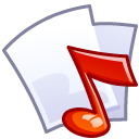 Audio File Emoticon