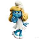 Smurfette Emoticon