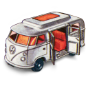 Volkswagen Camper Emoticon