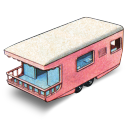 Trailer Caravan Emoticon