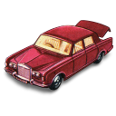 Rolls Royce Silver Shadow With Open Boot Emoticon