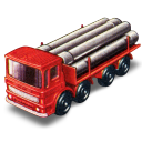 Pipe Truck Emoticon