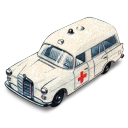 Mercedes Benz Ambulance Emoticon