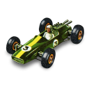 Lotus Racing Car Emoticon