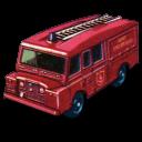 Land Rover Fire Truck Emoticon