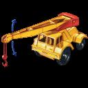 Jumbo Crane With Movement Emoticon