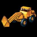 Hatra Tractor Shovel Emoticon