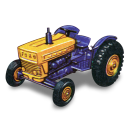 Ford Tractor Emoticon