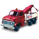 Ford Heavy Wreck Truck Emoticon
