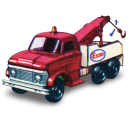 Ford Heavey Wreck Truck With Movement Emoticon