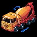 Foden Concrete Truck With Movement Emoticon